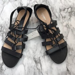 NWT Old Navy Lace-up Gladiator Wedge Sandals
